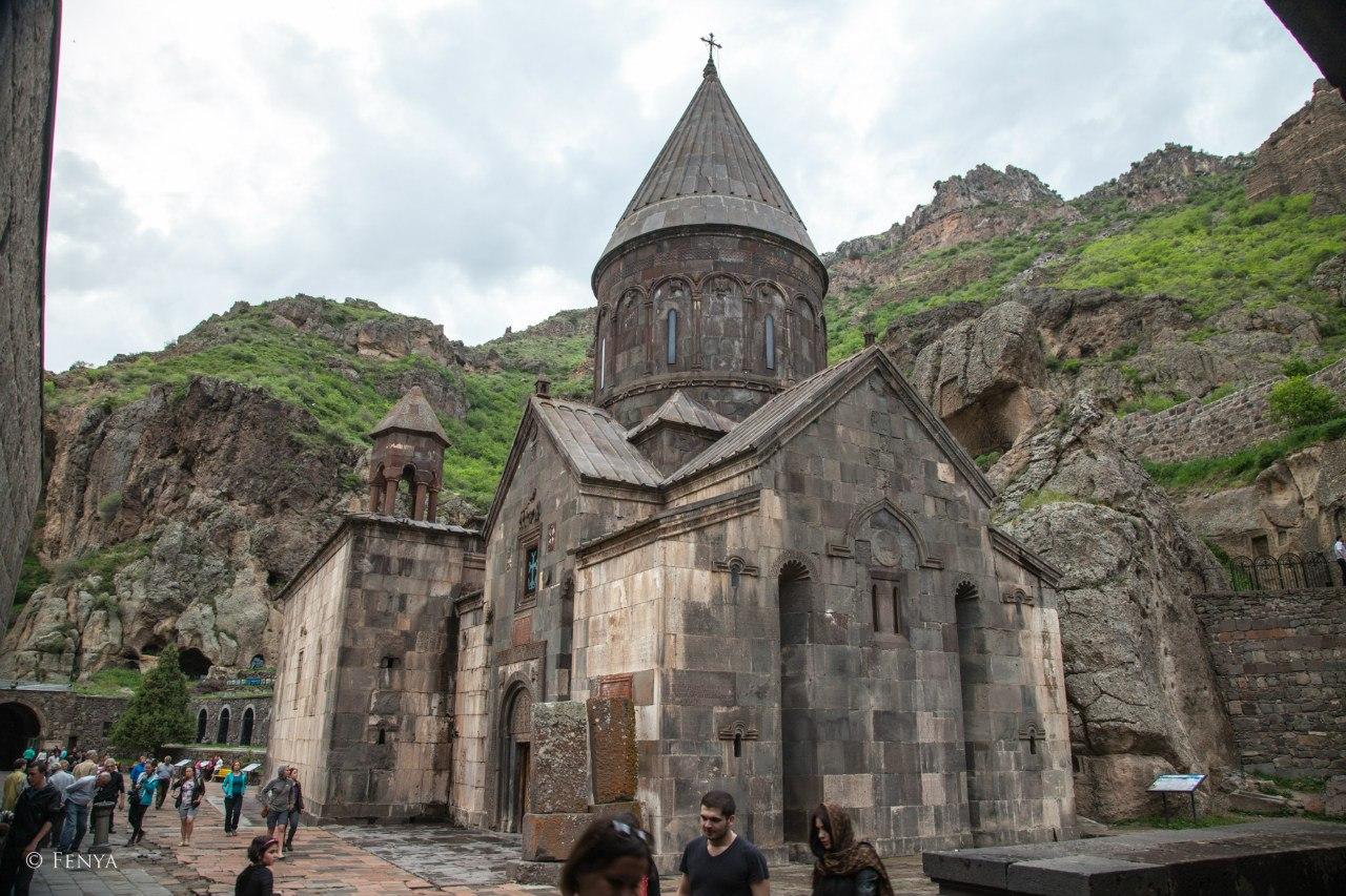 Geghard cave monastery (13c.)